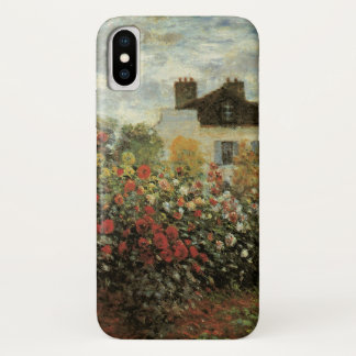 Monet's Garden at Argenteuil by Claude Monet iPhone X Case