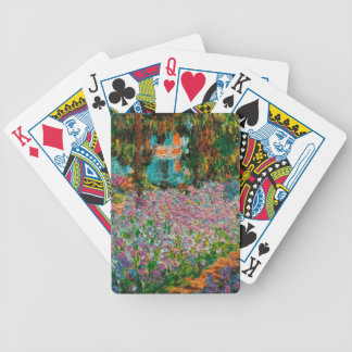 Monets Garden At Giverny Bicycle Playing Cards