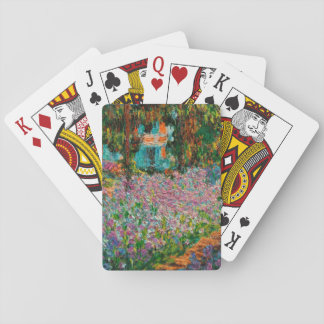 Monets Garden At Giverny Playing Cards