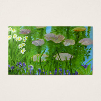 Monet's Garden Business Card