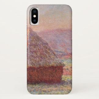 Monet's Haystacks, White Frost, Sunrise Case-Mate iPhone Case