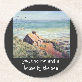 "Monet's ""House by the Sea"" costers Coaster"