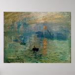 Monet's Impression Sunrise (soleil levant) - 1872