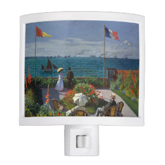 Monet's Jardin à Sainte-Adresse Nite Lites