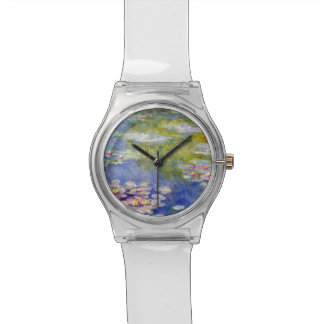 Monet's Water Lilies Wristwatches