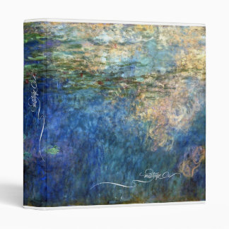 Monet's Waterlilies Binder