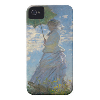 Monet's Woman with a parasol iPhone 4 Case-Mate Case