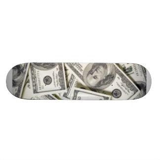 MONEY BOARD CUSTOM SKATE BOARD