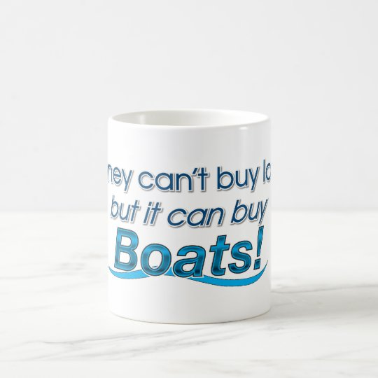 Money & Boats Coffee Mug