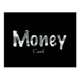Money Card Postcard