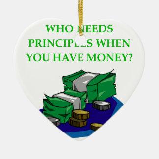 MONEY CERAMIC ORNAMENT