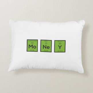 Money Chemical Element Funny Z3z08 Accent Pillow