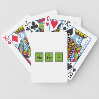 Money Chemical Element Funny Z3z08 Bicycle Playing Cards