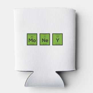 Money Chemical Element Funny Z3z08 Can Cooler