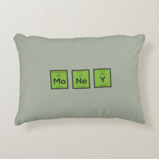 Money Chemical Element Funny Z3z08 Decorative Pillow