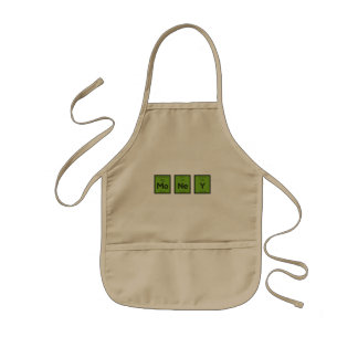 Money Chemical Element Funny Z3z08 Kids Apron