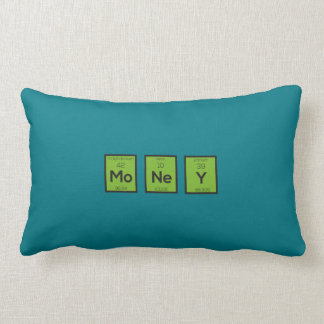 Money Chemical Element Funny Z3z08 Lumbar Pillow