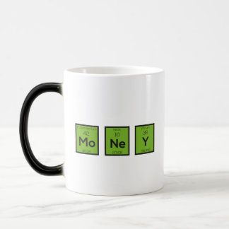 Money Chemical Element Funny Z3z08 Magic Mug