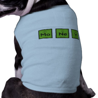 Money Chemical Element Funny Z3z08 Pet T Shirt