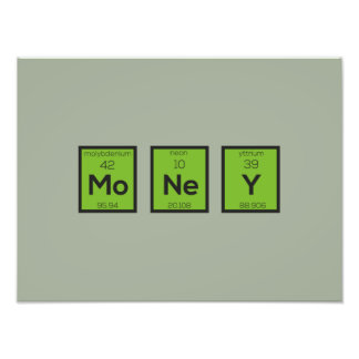 Money Chemical Element Funny Z3z08 Photo
