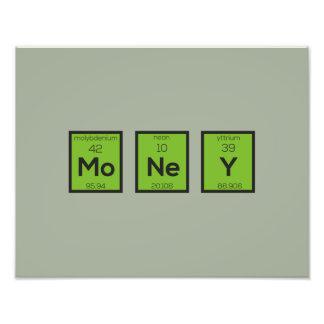 Money Chemical Element Funny Z3z08 Photograph