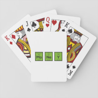 Money Chemical Element Funny Z3z08 Poker Deck