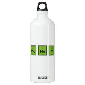 Money Chemical Element Funny Z3z08 Water Bottle
