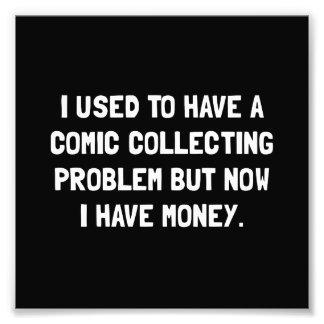 Money Comic Collecting Problem Photo Print