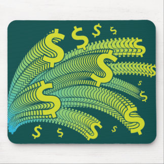 Money Dollar Symbol Mouse Pad