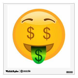 Money Emoji Wall Decal