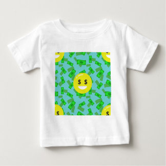 money eyed emoji baby T-Shirt