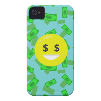 money eyed emoji iPhone 4 Case-Mate case
