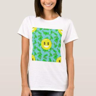 money eyed emoji T-Shirt
