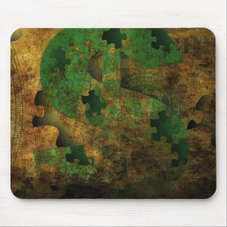 Money Grunge Mouse Pad