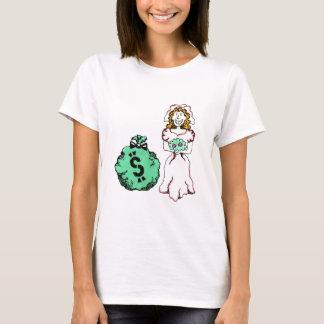 Money Hungry Bride T-Shirt