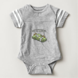 Money is the Motive Collection Baby Bodysuit