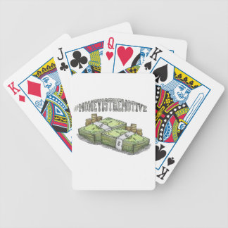 Money is the Motive Collection Bicycle Playing Cards