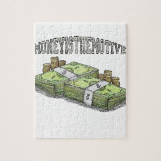 Money is the Motive Collection Jigsaw Puzzle