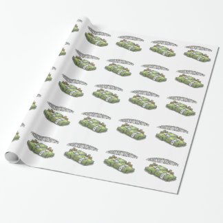 Money is the Motive Collection Wrapping Paper