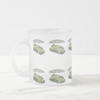Money is the motive frosted mug