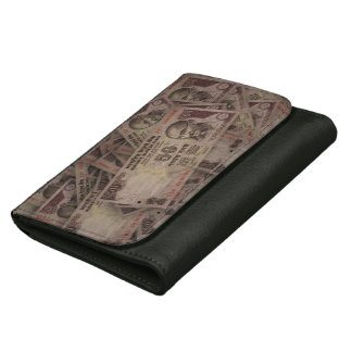 MONEY LEATHER WALLET