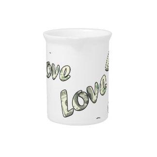 Money love pattern pitcher