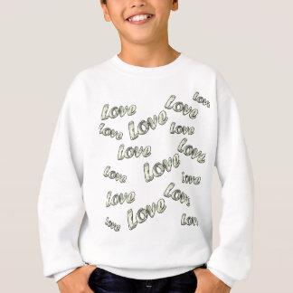 Money love pattern sweatshirt