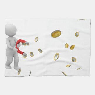 Money Magnet Towels