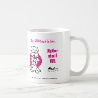Money Mantra - Divas Never Work For Free Classic White Coffee Mug