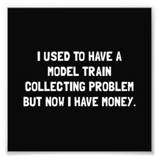 Money Model Train Problem Photograph