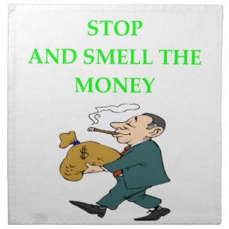 MONEY NAPKIN