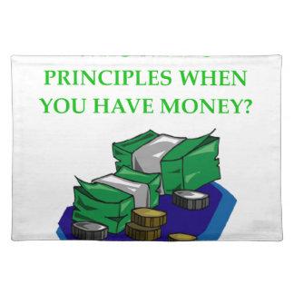 MONEY PLACE MATS