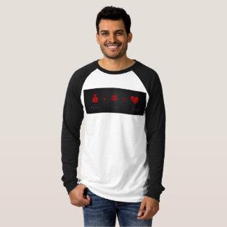 Money Plus Lust Equals Love Men's Jersey T-Shirt