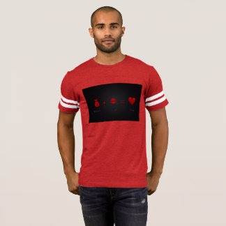 Money Plus Lust Equals Love Men's T Red T-Shirt
